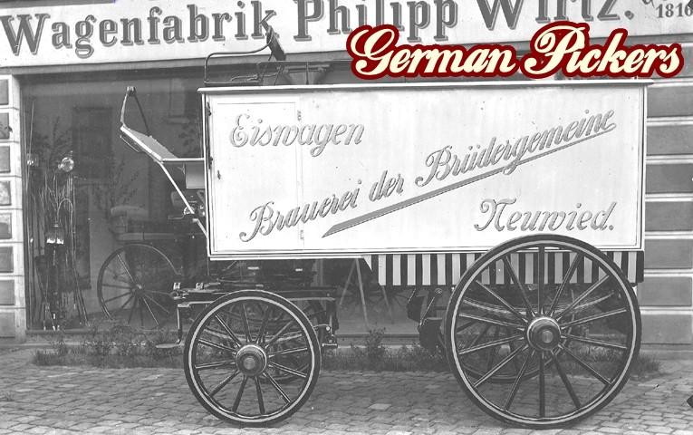 Eiswagen der Brauerei der Brüdergemeinde Neuwied