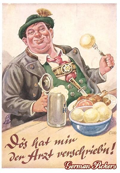 AK Hofbräuhaus - Bier und Haxe - Das hat mir der Arzt verschrieben