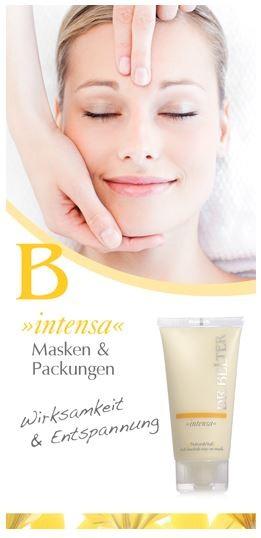 Dr Belter Masken Packungen Wirkstoffkosmetik Cosmeceuticals Pharmaceuticals