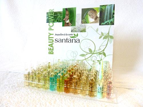 Santana-Wirkstoffampullen, Iontophorese, Ampulle, Serum, Konzentrat