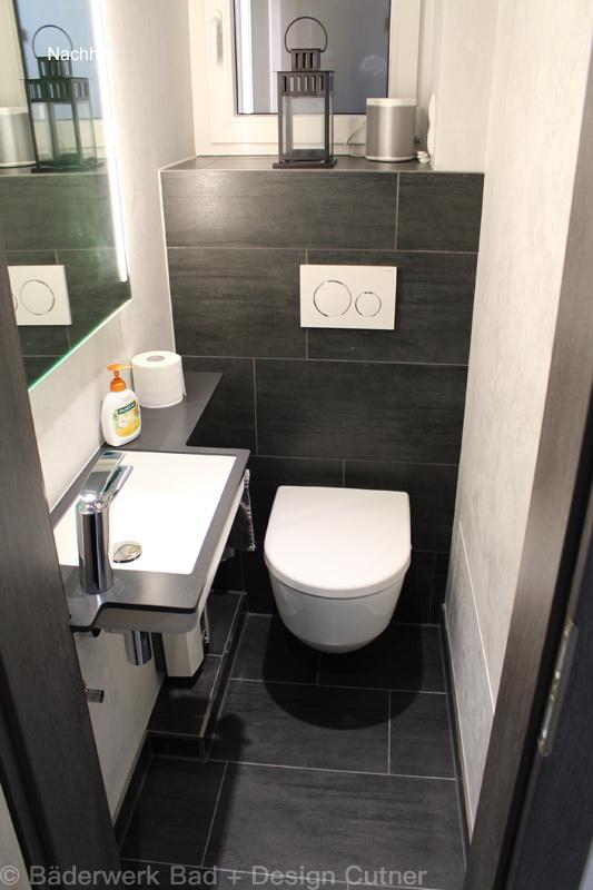 Gäste WC - Baederwerk Bad und Design Cutner