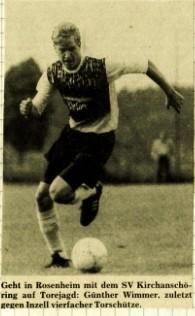Günter Wimmer, SVK Torjäger