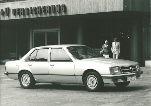 Opel Commodore C Fotos