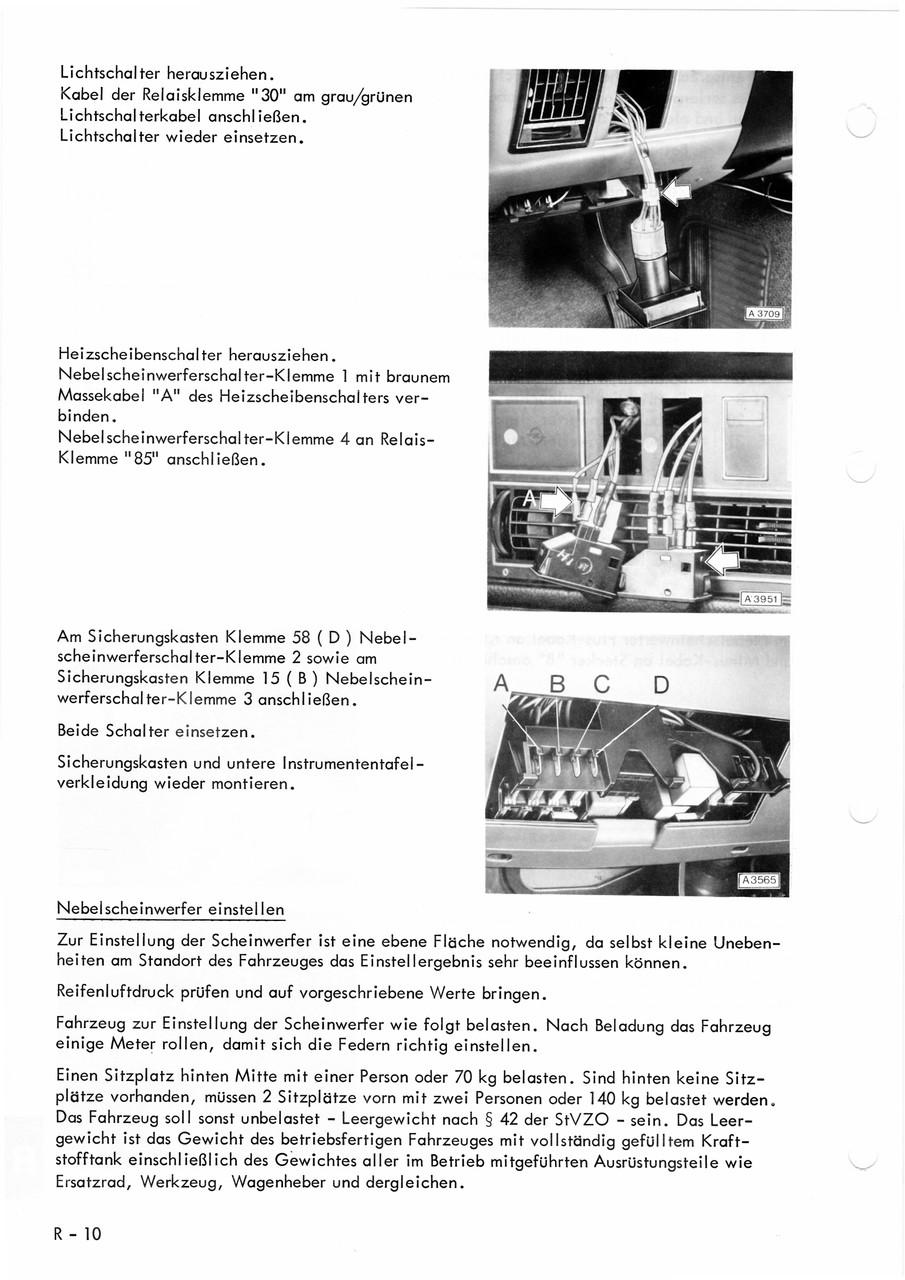 Schön Kc Nebelscheinwerfer Schaltplan Fotos - Verdrahtungsideen ...