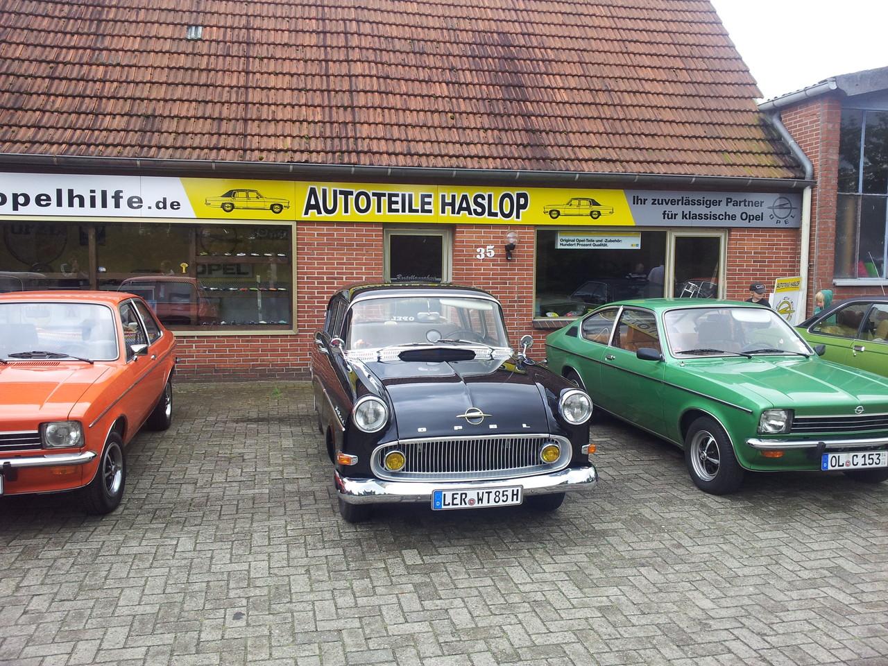 Altopeltreffen in Dötlingen - Wissenswertes über den Opel Commodore C