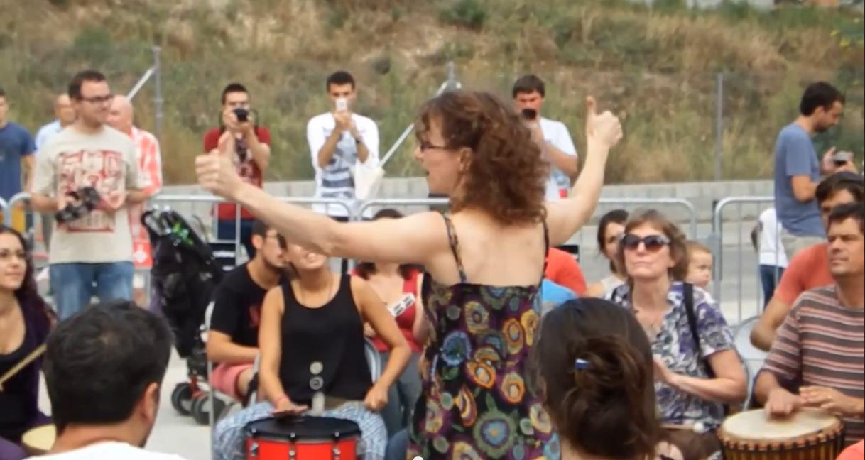 Open Community Drum Circle Barcelona Sept. 2014