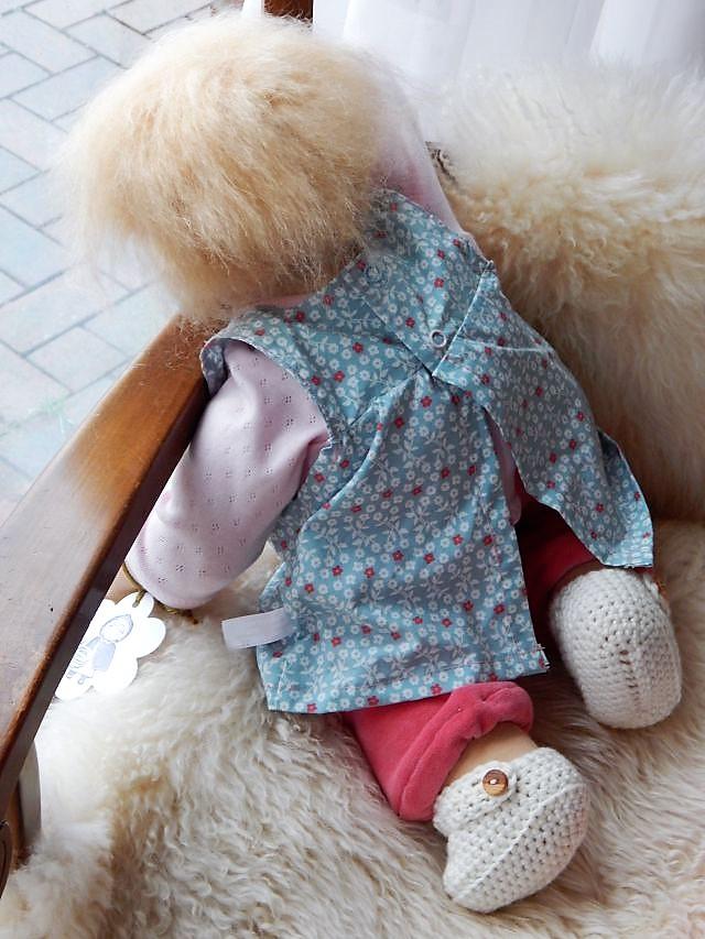 Puppenbaby, Babypuppe, Stoffpuppenbaby, individuelle Puppe, Wunschpuppe, Bio-Stoffpuppe, Waldorfart, Handarbeit, handgemacht, handgefertigt, Puppenhandwerk, Jennifer Kliem-Pärsch