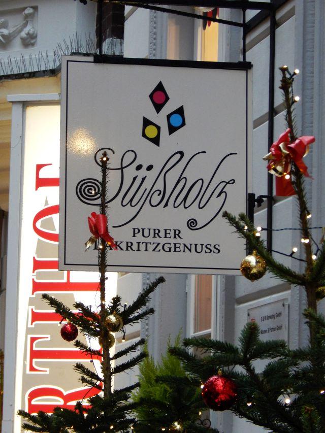 Süßholz, Lakritzladen, Oldenburg