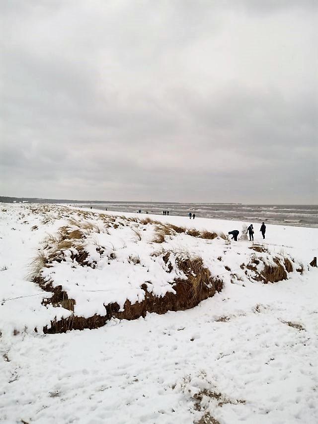 weiße Ostern 2018, Ostsee, Prerow, Darß
