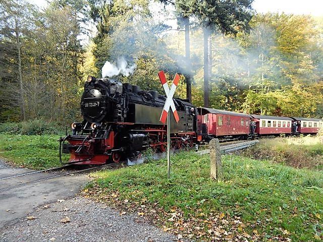 Dampfeisenbahn zwischen Wernigerode und Brockenspitze