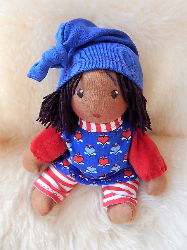 Schlamperle-Puppe, Waldorfart, erste Puppe, Kleinkindpuppe, Puppe für Kleinkinder, Bio-Stoffpuppe, ökologische Kinderpuppe, süßteste Puppe der Welt, individuelle Puppe passend zum Kind, Wunschpuppe, handgemachte Puppe,Puppenhandwerk, Jennifer Kliem-Pärsch