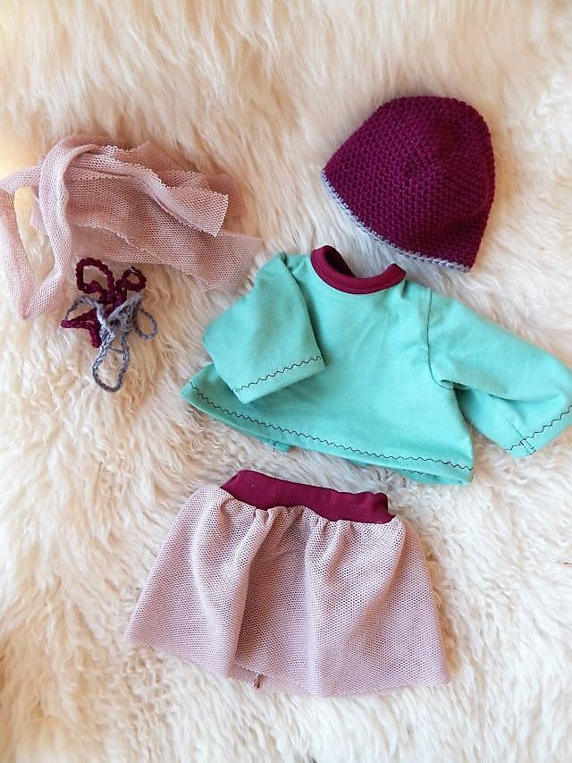 Bio-Stoffpuppe, individuelle Puppe passend zum Kind, Schlamperle, Waldorfart, ökologische Kinderpuppe, handgemachte Puppe, Puppe nach Wunsch, Wunschpuppe, handgefertigte Puppe, Puppenhandwerk, Puppe aus Naturmaterialien, Ballerina-Puppen-Outfit