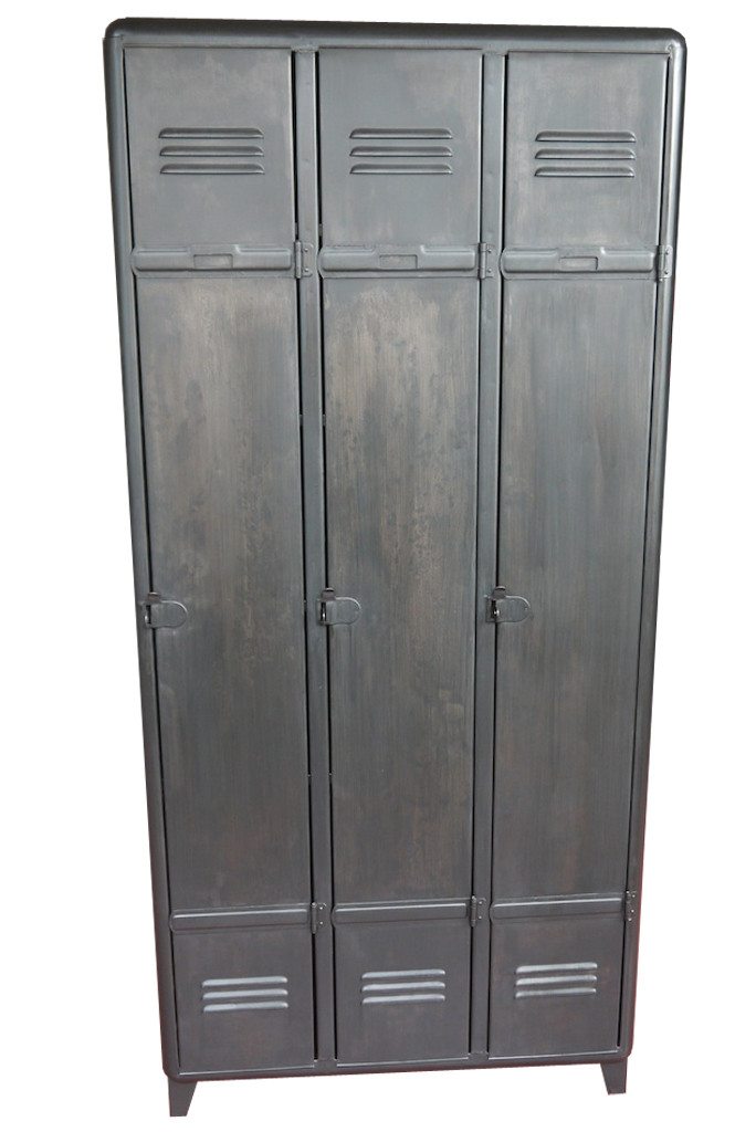 armoire industrielle atelier vintage mobilier. Black Bedroom Furniture Sets. Home Design Ideas
