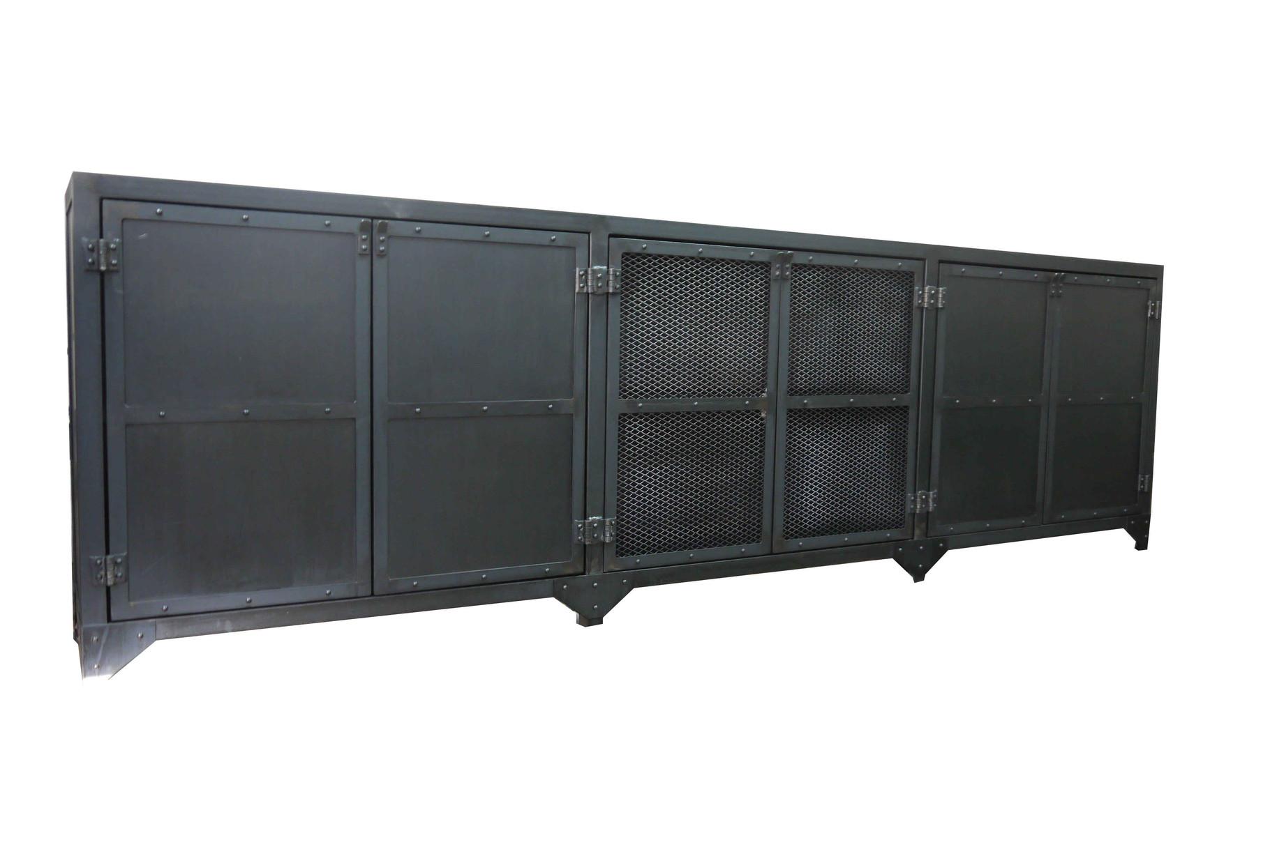 buffet / enfilade / console - atelier vintage - mobilier industriel lyon