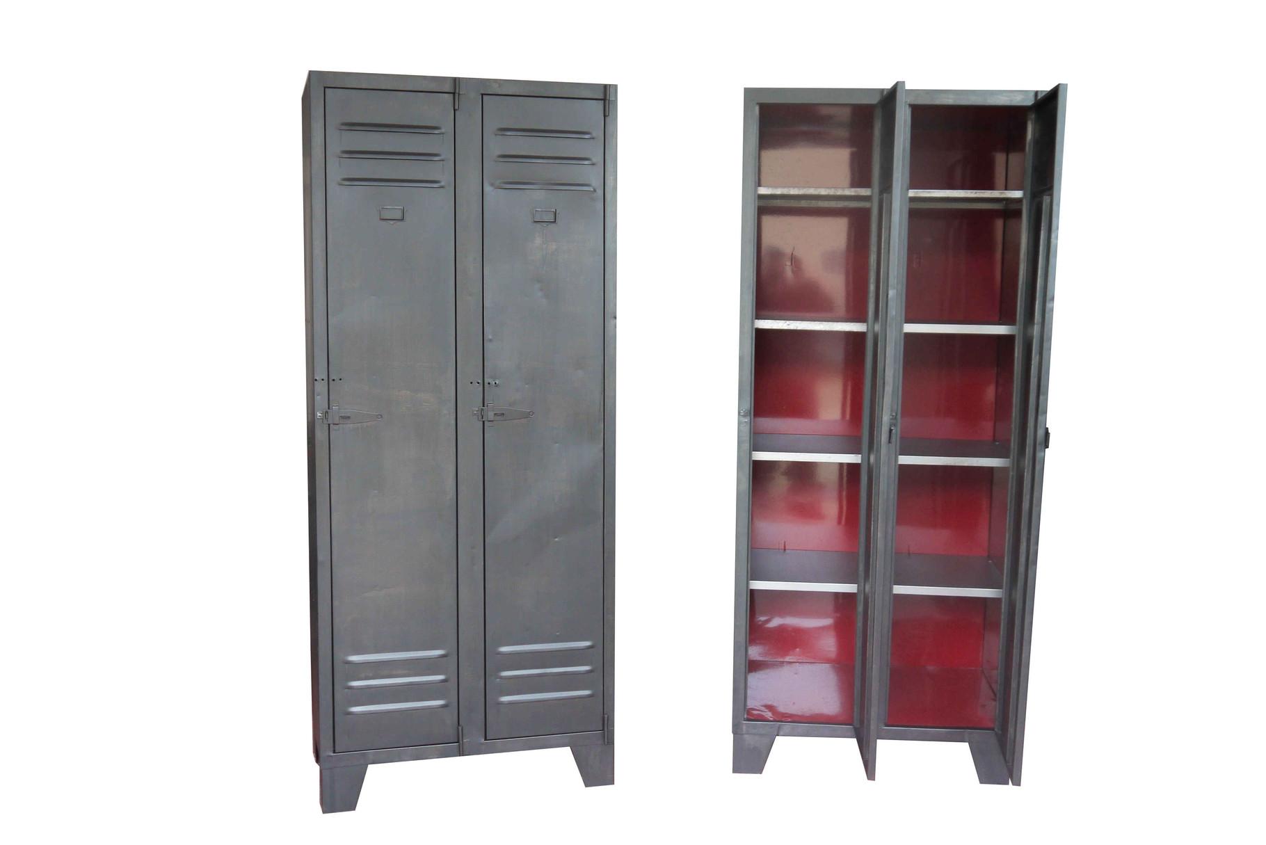 armoire industrielle atelier vintage mobilier industriel lyon. Black Bedroom Furniture Sets. Home Design Ideas