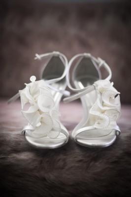 Hochzeitsfoto, Brautschuhe