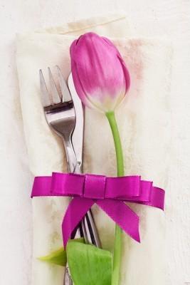 Hochzeitsbild, Tischdeko