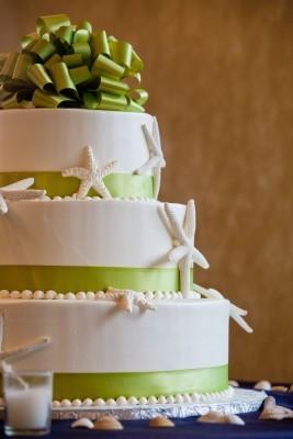 Hochzeitsshooting, Hochzeitstorte