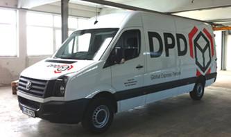 Beschriftung DPD-Fuhrpark