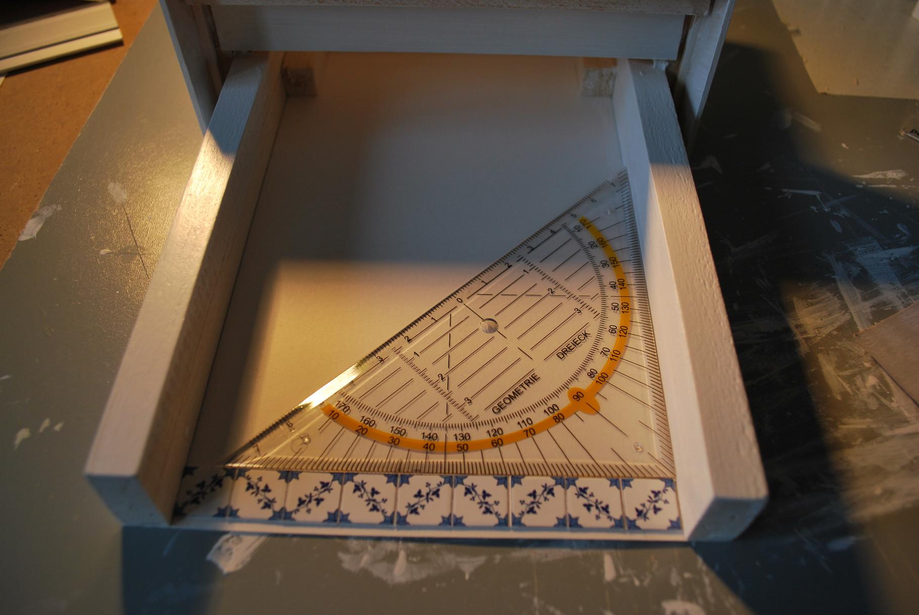 Fabrication de la cheminée de la cuisine
