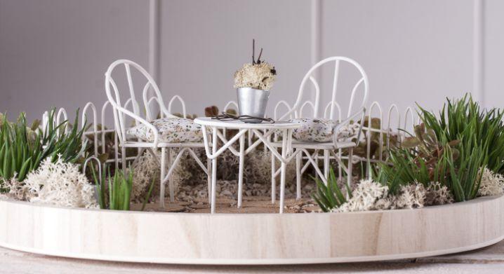 Mini Gardening de chez Rayher : idée créative