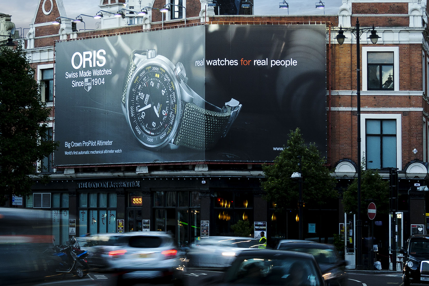 ORIS: MAKING TIME - Jede Minute zählt