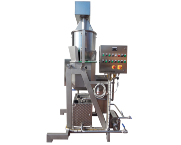 Curd cutter - Discontinuous stretching machines