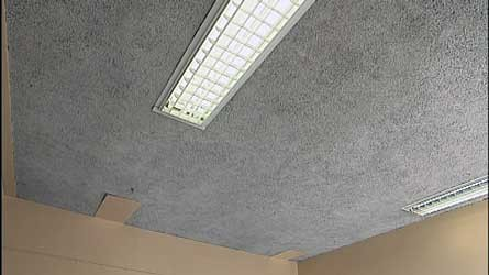 amiante plafonds pr vention amiante. Black Bedroom Furniture Sets. Home Design Ideas