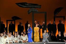 Perséphone de Stravinsky Opéra de Lyon Martyn Brabbins.Peter Sellars