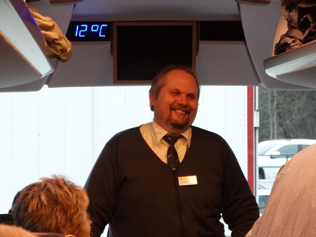 Albert Christoffel, unser Chauffeur