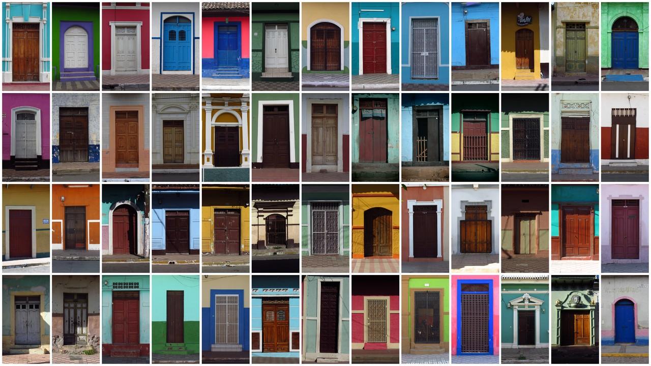 Doors of Granada