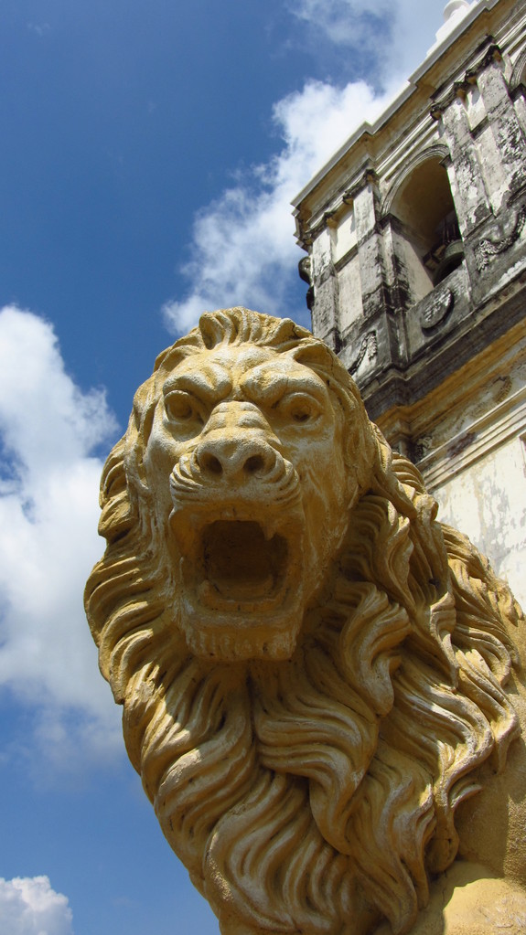One of the namesakes of León (lion)