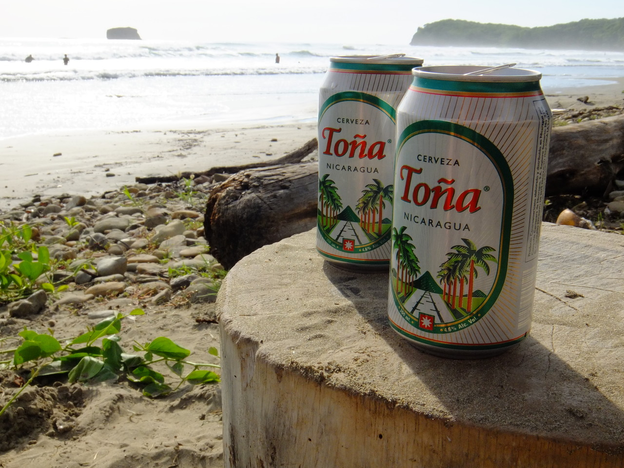 Enjoy a Tona on Playa Hermosa!