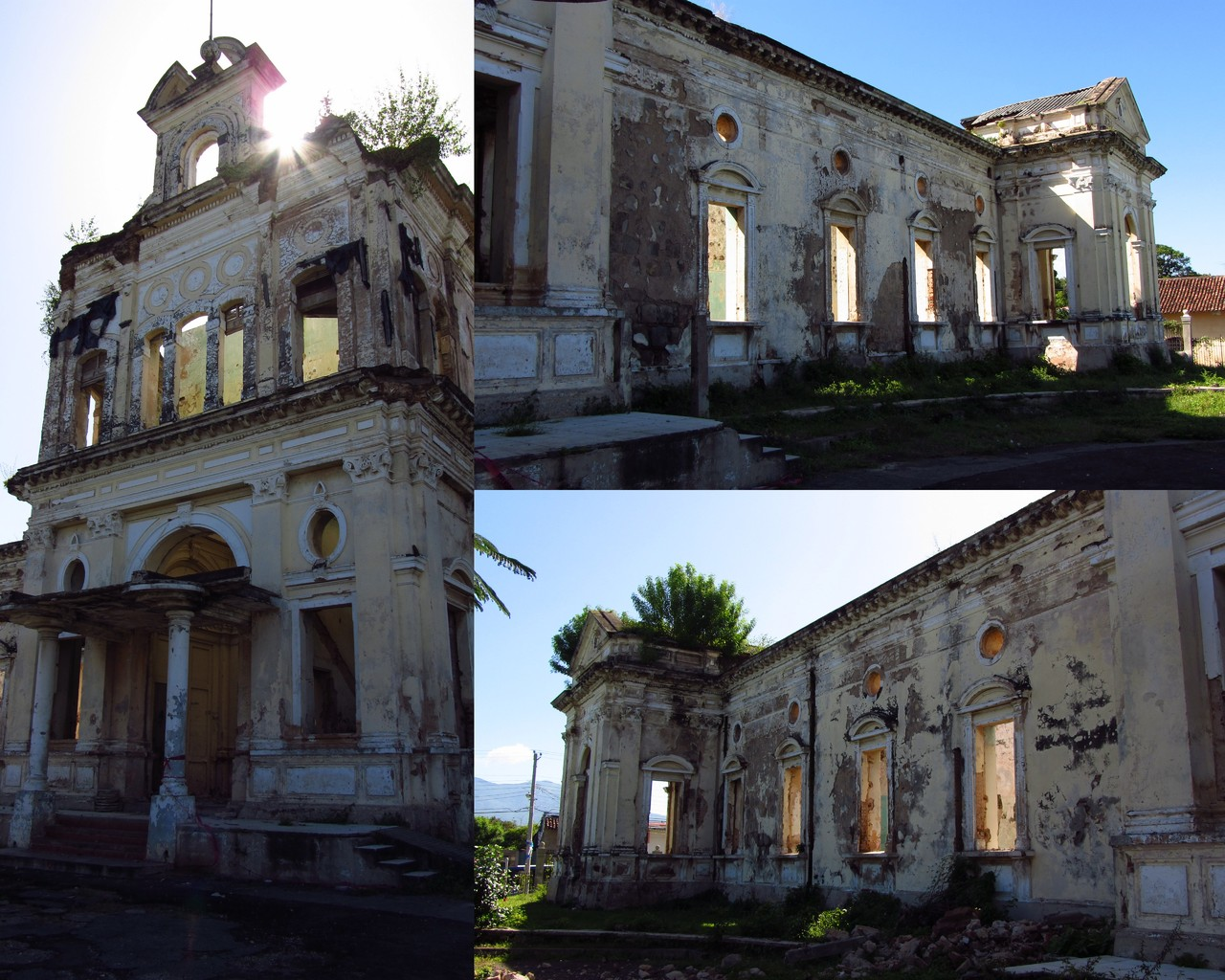 The beautiful ruins of the old hospital