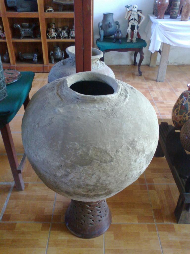 Pottery in San Juan de Oriente