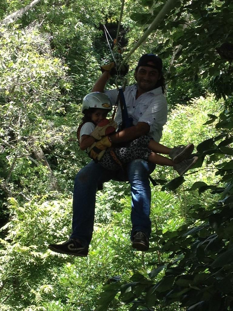 Ziplining/ Canopy tour with Bosco