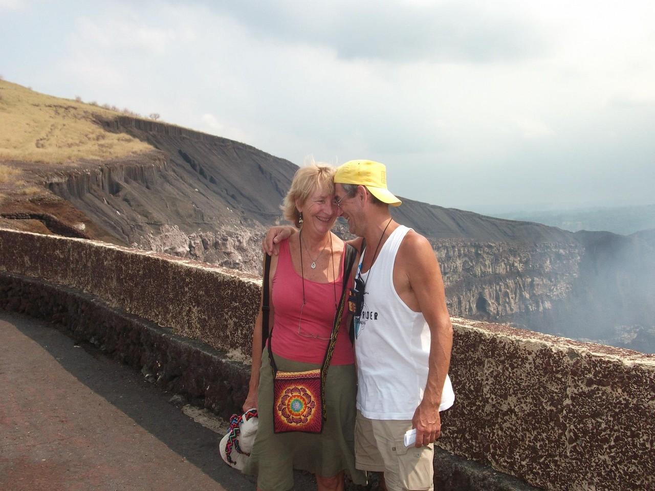 Happy customers on Volcan Masaya