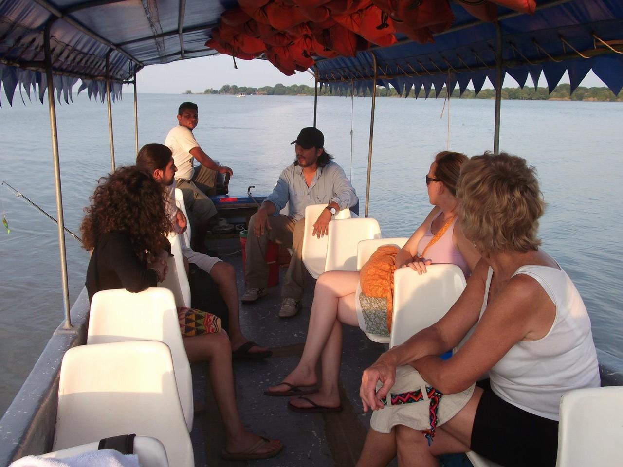Touring the isletas