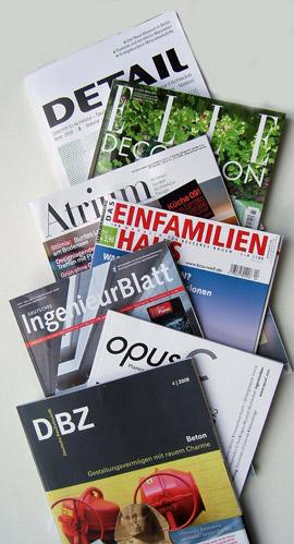 Architekturfachzeitschriften