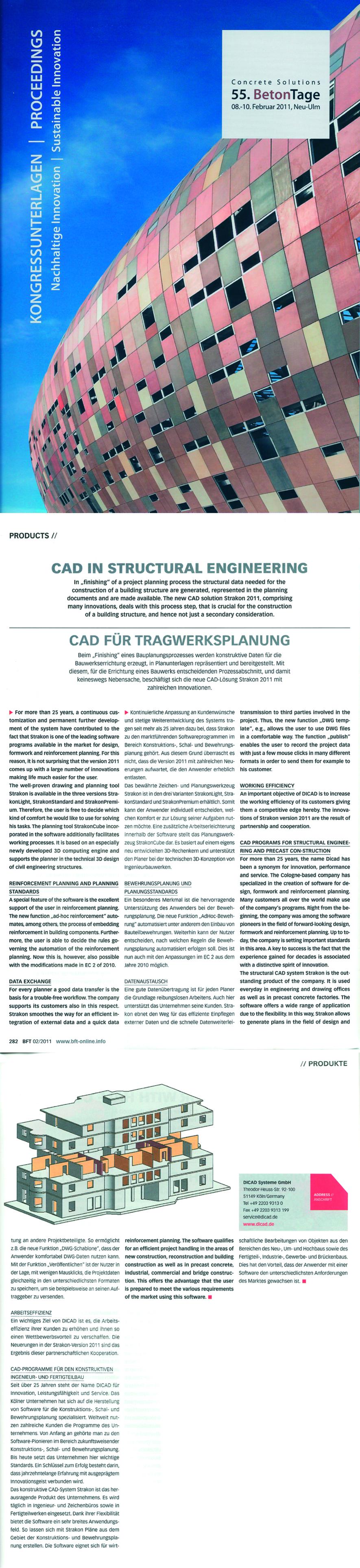 Veröffentlichung in Fachzeitschrift