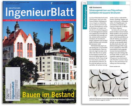 Veröffentlichung im Deutschen Ingenieur Blatt