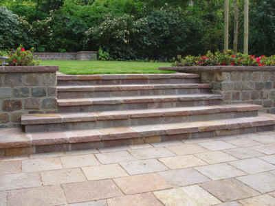 Bevorzugt Mauern und Treppen - Scharnweber Garten- und Landschaftsbau YY74