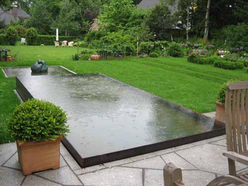 Wasser im garten scharnweber garten und landschaftsbau - Garten wasserlauf ...