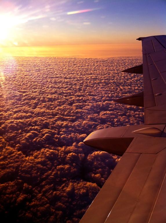 """""""Leaving on a Jet Plane"""" von Matthias Senft"""