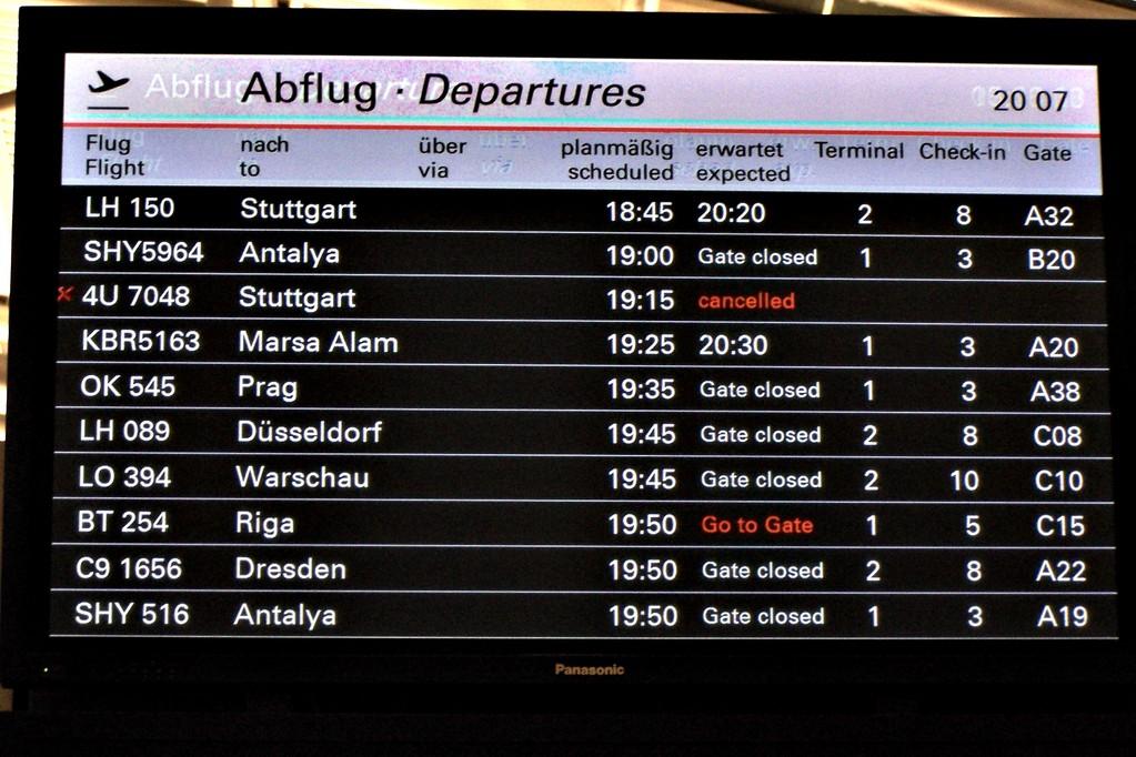 """""""Flug nach Stuttgart"""" von Lars Riehn"""