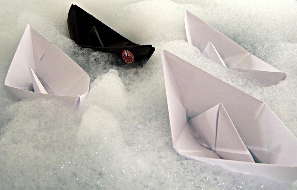 """""""White Water"""", Lars Riehn"""