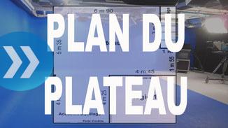 Plateau fond vert Paris