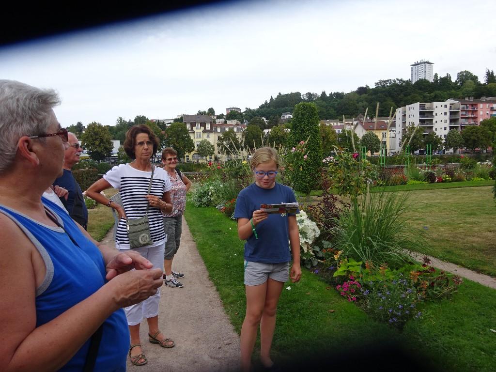 Maelle a bien rempli son rôle de guide touristique