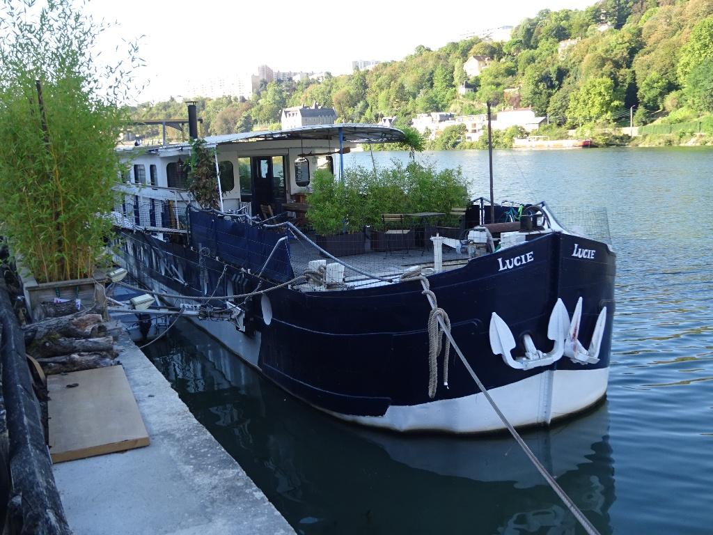 En longeant la Saône
