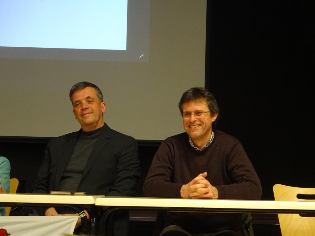 Le Maire de Vaucouleurs et le Président de la CODECOM